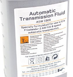 Automatic Transmission Fluid - LR002748