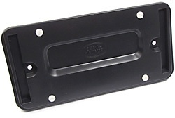 license plate rear mounting bracket