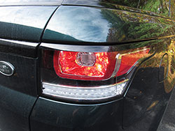 tail light assembly - installed