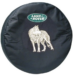 Wheel Cover For Spare Tire With Land Rover Logo (Wolf Design)