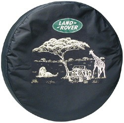 Land Rover spare tire cover