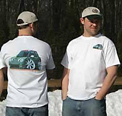 Wacky Cartoon T-Shirt - Cooper S - Green