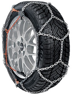 Winter Tire Chains - RUD-Compact Grip - 195/55-R16 - Front Pair