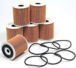 Oil Filter Kit: Set Of 6 Filters