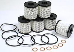 Genuine Oil Filter Kit: Set Of 6