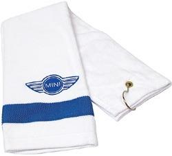 Golf Towel - MINI Blue