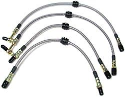 Brake Hose Kit - Performance Stainless Steel With Teflon Liner