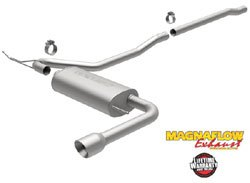 MagnaFlow Performance Stainless Steel Exhaust System: Cat-Back, Single-Exit / Single-Tip