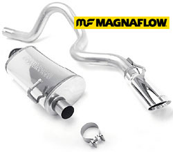 Defender performance exhaust systems