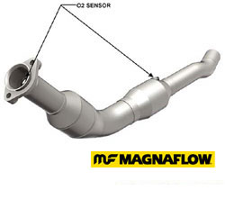 driver side catalytic converter - Magnaflow