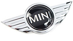 Hood Emblem: Wings Logo For MINI Cooper S