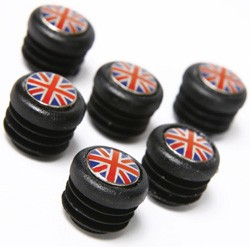 Door Panel Finish Kit - Union Jack - Set Of 6