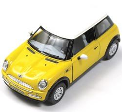 Toy Car MINI Cooper Yellow