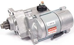 Starter Motor By Denso For 4.2 And 4.4 Liter Engines On Land Rover LR3 And Range Rover Sport 2005 - 2009, Includes Core Charge