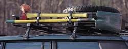 Roof Rack - Safari - Axe & Shovel Bracket