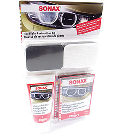 SONAX Headlight Restoration Kit - SON405941