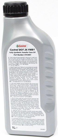 Castrol transfer case oil