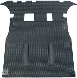 Cargo Liner / Loadspace Mat STC50053, Black Rubber, Full Length Size, For Land Rover Discovery Series II