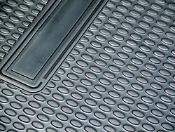Cargo Liner / Loadspace Mat, Black Rubber, Full Length Size For Land Rover Discovery Series 2