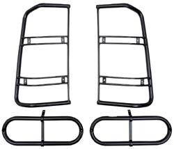 LAND ROVER DISCOVERY 1 REAR WING LAMP GUARD PAIR PART RTC9503AA