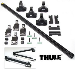 Thule Traverse Complete Roof & Ski Rack Kit