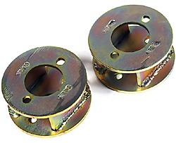 Land Rover spring spacers
