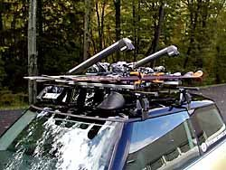 Roof Rack Crossbars, Mounts and Fairing Sold Separately with Thule Kit # M3050