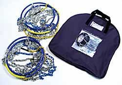 tire chains and bag