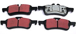 EBC Ultimax Rear Pads For Cooper And Cooper S 02-03