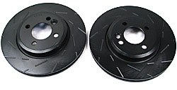 EBC Ultimax® Blackdash Sport Brake Rotor Set - Front - Slotted (Pair)