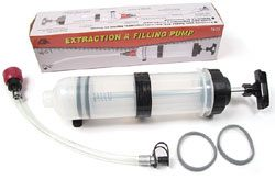 Automotive Fluid Extractor And Filling Pump, 1.6 Quart Capacity