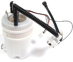 Land Rover fuel system