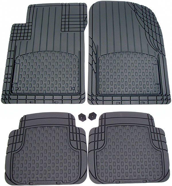 WeatherTech rubber mats