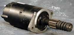 Land Rover starter motor