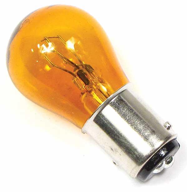 Bulb 12 Volt 21/5 Watt Amber Colored