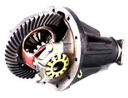 remanufactured differential assembly for Land Rover Series
