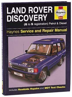 Workshop Manual - Haynes - Discovery - For 1994 & 1995 Discovery Only