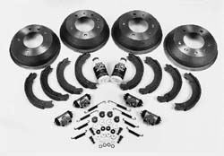Brake Rebuilding Kit, Front And Rear, For Land Rover Series II And IIA, Suffix 'G' 88-Inch Vehicles Only