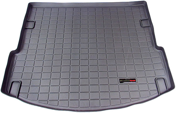black WeatherTech cargo liner for Discovery Sport