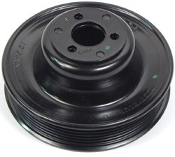 Genuine Water Pump Pulley For Land Rover LR3, Range Rover Sport And Range Rover Full Size L322 2005 - 2009
