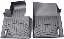 Floorliner Molded Mat By WeatherTech Front Pair Black