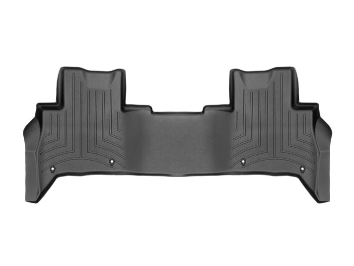 Floorliner Molded Mat By WeatherTech, 2nd Row, Black For Land Rover Discovery 5