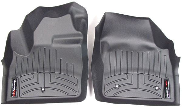 Floor Liner Front Pair Black
