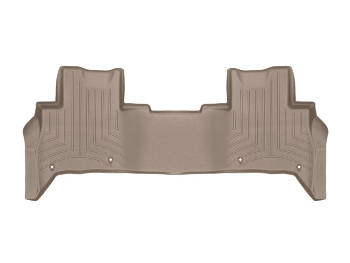 Floorliner Molded Mat By WeatherTech, 2nd Row, Tan For Land Rover Discovery 5