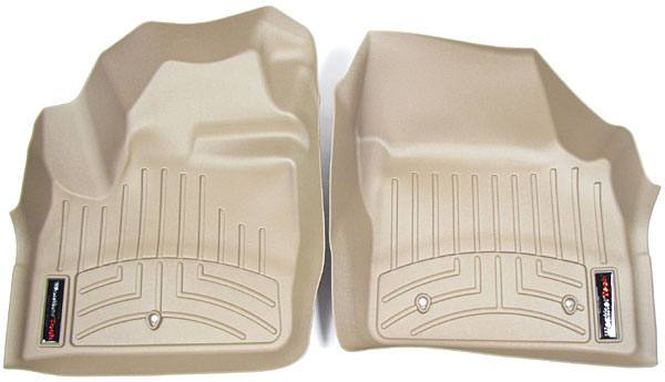 Floor Liner Front Pair Tan