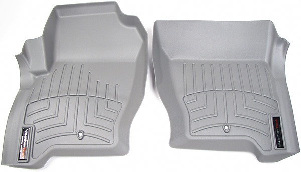 Floorliner™ Molded Mat By Weathertech® Front Pair Grey