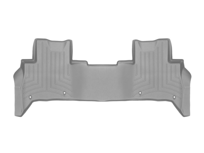 Floorliner Molded Mat By WeatherTech, 2nd Row, Grey For Land Rover Discovery 5