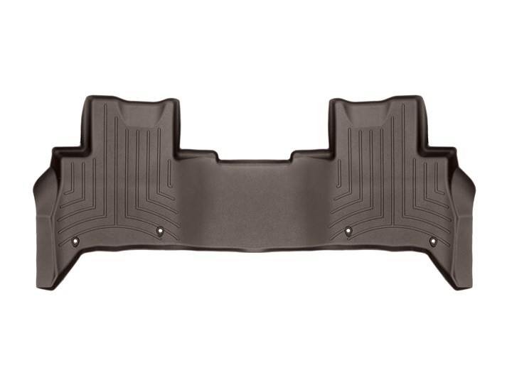 Floorliner Molded Mat By WeatherTech, 2nd Row, Cocoa For Land Rover Discovery 5