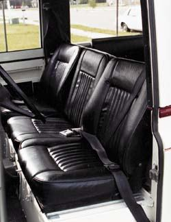 Seat Cushion - Center - Bottom (Black)