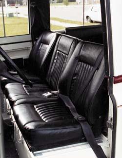 Seat Cushion - Center - Bottom (Black)